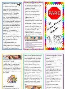ejemplos de bulling newhairstylesformen2014 com brochure sobre acoso escolar
