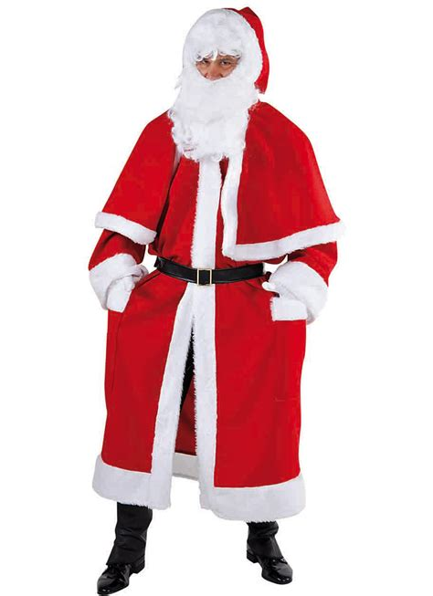 father christmas hire standard cloak style magic for