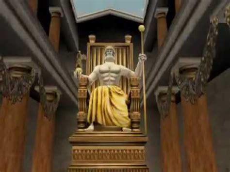 imagenes de la estatua del dios zeus las siete maravillas del mundo antiguo la estatua de zeus