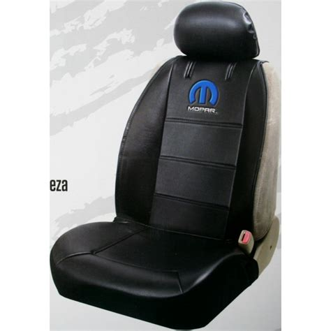 vinyl automotive seat covers mopar logo truck car sideless embroidered seat cover vinyl