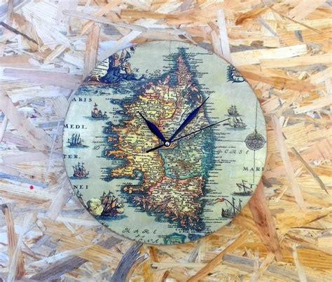 decoupage clock wall clock gift for decoupage clock