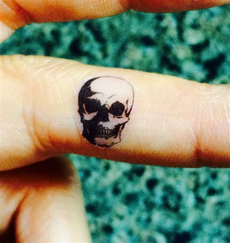 halloween temporary tattoos 5 skull temporary tiny tattoos