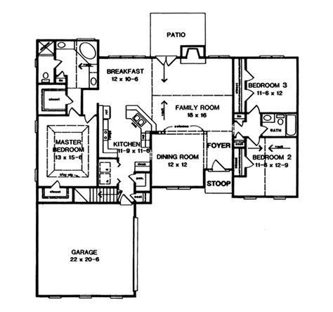 southern ranch house plans roxanna southern ranch home plan 076d 0054 house plans