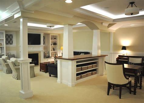 Clubhouse Drive Basement   Transitional   Basement   Boston   by OCO architectrure::design