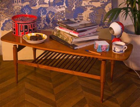 60s style coffee table vintage coffee table rectangular shape scandinavian