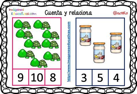 imagenes educativas cuenta y relaciona fichas para aprender a contar 13 imagenes educativas
