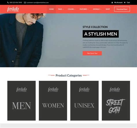 best joomla free template 10 best free joomla templates 2018 themelibs