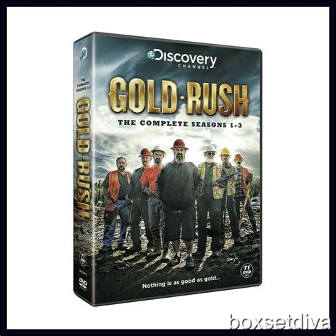 Gold Series Day 1 gold alaska complete series seasons 1 2 3 brand new dvd ebay