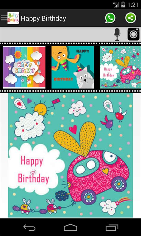 birthday frames android apps on happy birthday card frame android apps on play