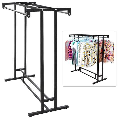 Hanger Racks For Stores Clothes Rack Garment Rod Hanger Stand Closet Storage