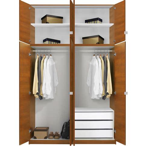 Closet Packages Alta Wardrobe Closet Package 3 Drawer Wardrobe