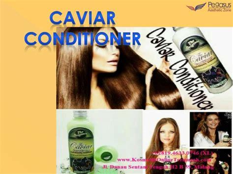 Caviar Sho Asli caviar conditioner perawatan rambut alami perawatan
