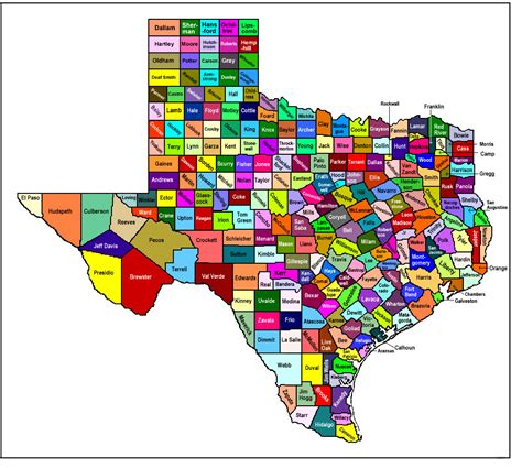 Tx Is In What County Education Provider Map
