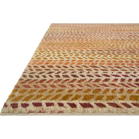 Modern Orange Rug Sola Modern Orange Patterned Pink Rug 5x7 6 Kathy Kuo Home