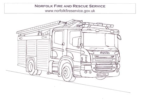 coloring pages with fire truck fire engine colouring in kids coloring europe travel