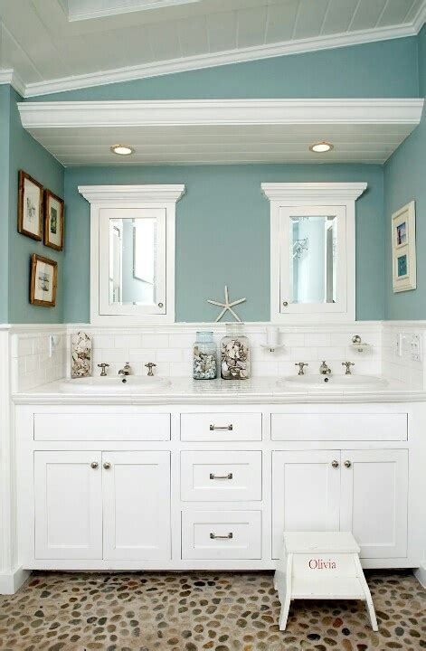beach themed bathrooms ideas 44 sea inspired bathroom d 233 cor ideas digsdigs