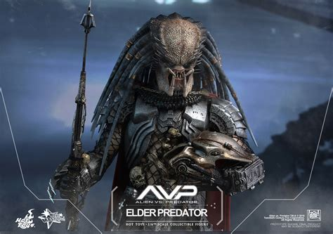 film online predator 1 hot toys avp 1 6th scale elder predator plastic and plush