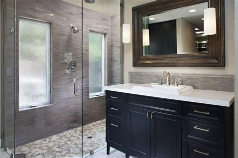 Modern Bathroom Renovation Bathroom Remodel Contemporary Bathroom San Diego By Style On A Shoestring