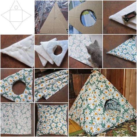 cat tent bed easy diy cat tent home design garden architecture