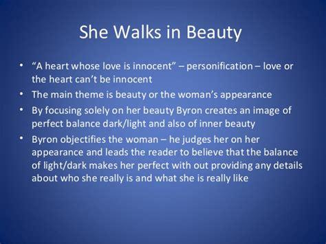 She Walks In Essay by Definition Of Inner Essay