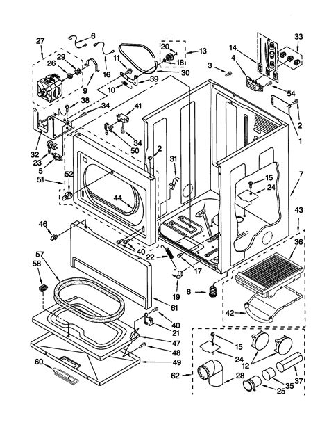 kenmore elite oasis dryer wiring diagram kenmore elite