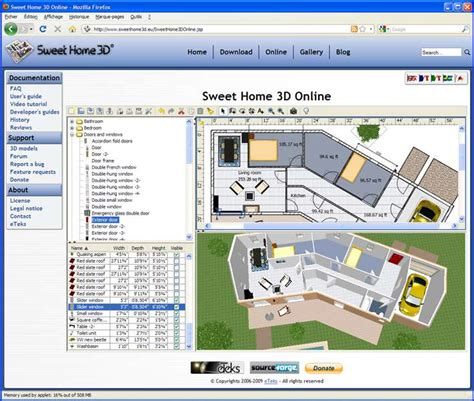 sweet home 3d free interior design software for windows selbst plan zeichnen bauforum auf energiesparhaus at
