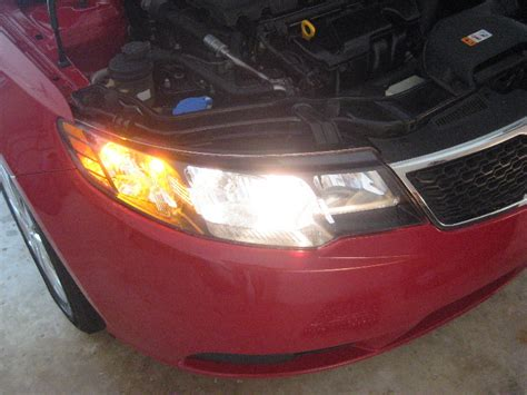 2013 Kia Forte Headlight Bulb Kia Forte Headlight Bulbs Replacement Guide 047