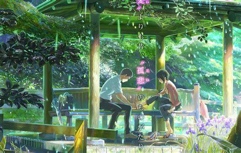 tr 225 iler de the garden of words la nueva pel 237 cula de