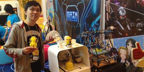 Printer 3d Jakarta keren orang indonesia bikin quot printer quot 3d kompas