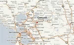 map of concord california concord location guide