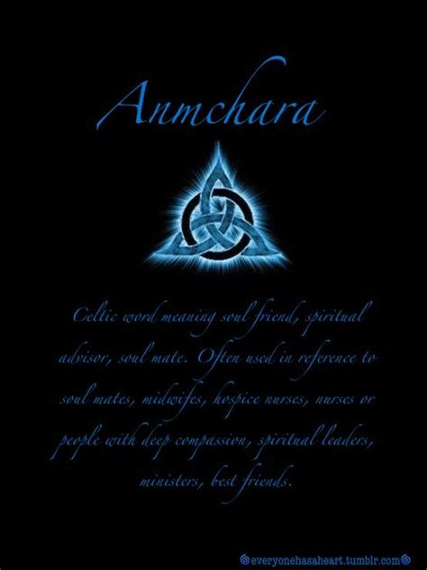 anmchara anahm karuh celtic word meaning soul friend