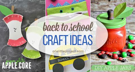 school craft 25 totally awesome back to school craft ideas