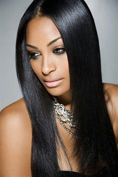 middle part weave middle part hair weaves wigs pinterest natural