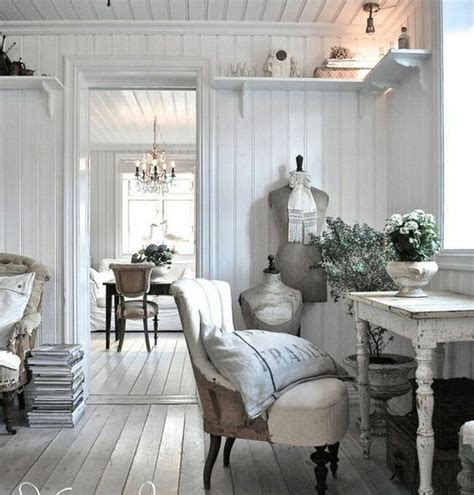 shabby chic home office furniture 15 country home office d 233 cor ideas shelterness