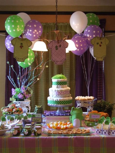 Baby Shower Decorations Pink And Green by Best 25 Green Baby Showers Ideas Only On Pinterest Baby