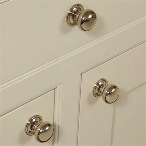 Kitchen Cabinet Door Knobs Hafele Polished Nickel Kitchen Door Knob 31 38 Mm