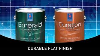 Sherwin Williams Duration Home Interior Paint emerald 174 interior amp duration home cleanable flat amp sherwin williams