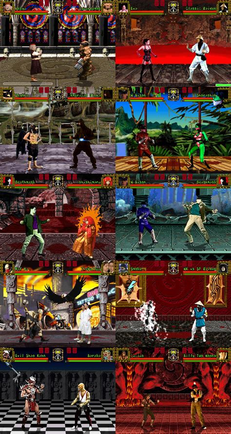 Tattoo Assassins Stages   the mugen fighters guild tattoo assassins pack full stages
