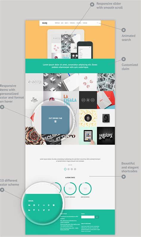 theme wordpress qaro 134 best portfolio wordpress themes images on pinterest