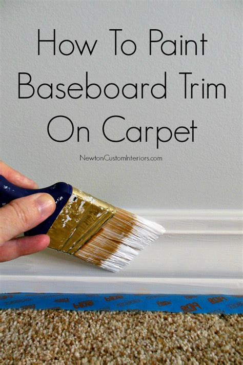 how to trim a rug how to paint baseboard trim on carpet newton custom interiors