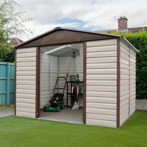 Yardmaster Shiplap Shed yardmaster 8 x 6 shiplap metal garden shed