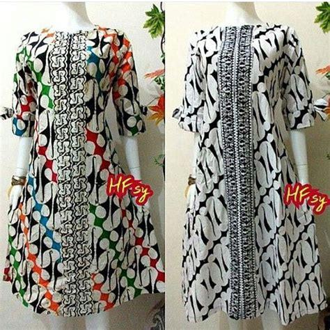 Tunik Batik Sogan Klasik 2 Tunic Dress Baju Batik 30 best model baju batik dress images on batik dress batik fashion and model baju batik