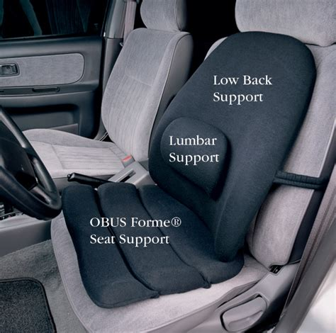 back support cushion for car seat obus forme 174 seat and back supports coast