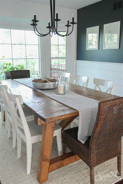 Shiplap Table Make Your Dining Room Look Amazing For 100 Hometalk