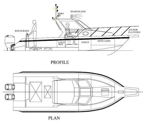 fishing boat plans free catamaran fishing boat design plans buat boat
