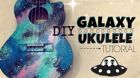 tutorial ukulele diy galaxy ukulele tutorial kelaska youtube
