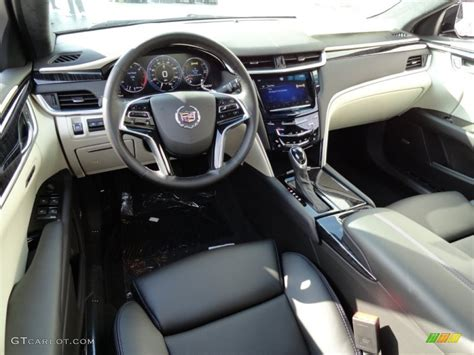 2013 Cadillac Xts Interior by Jet Black Light Wheat Opus Leather Interior 2013