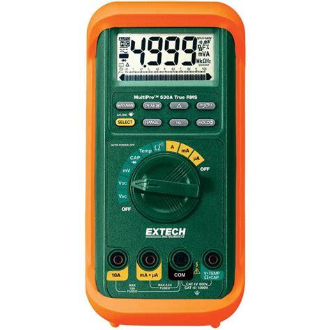 Mm 2 Digital Multimeter With True Rms klein tools manual ranging digital multimeter mm300 the home depot