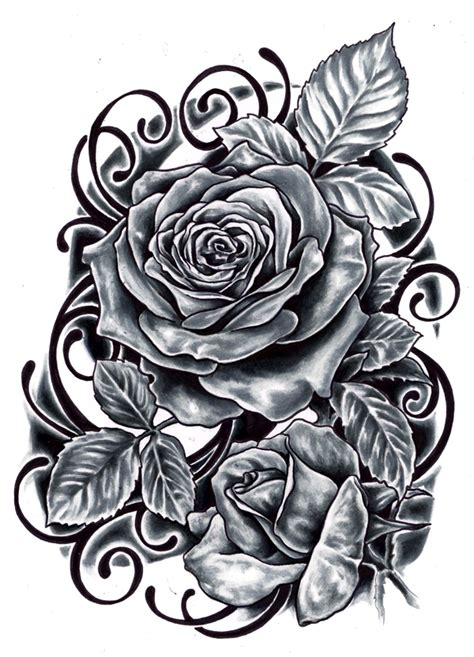 large rose tattoo designs black designs ideas photos images memoir tattoos