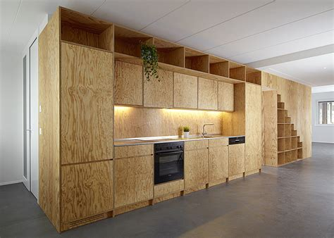 How Big Is A Kitchen Island plywood built in furniture by big game